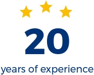 20 years experience in vehicle lending, equipment lending and working capital